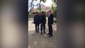 Павел Филип проверил, как идёт ликвидация последствий снегопада в Кишинёве
