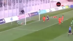Видео: Голландский футболист не попал в ворота с двух метров