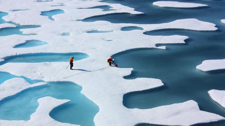 Северный Ледовитый океан стал похожим на Атлантику