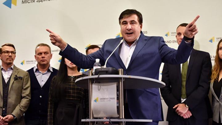 Саакашвили стартовал со своим шоу на украинском телевидении
