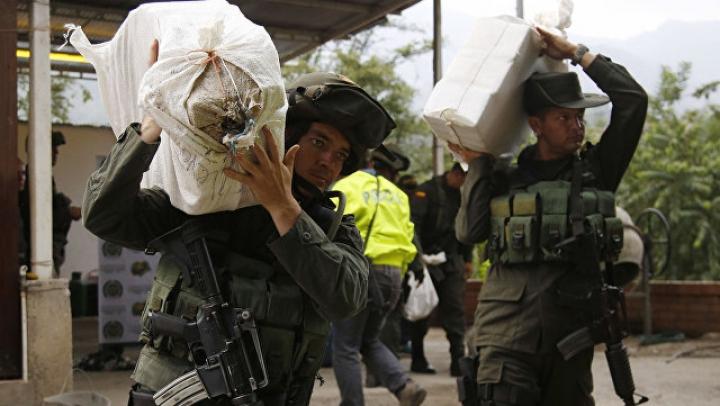 Колумбийская полиция обнаружила более шести тонн кокаина