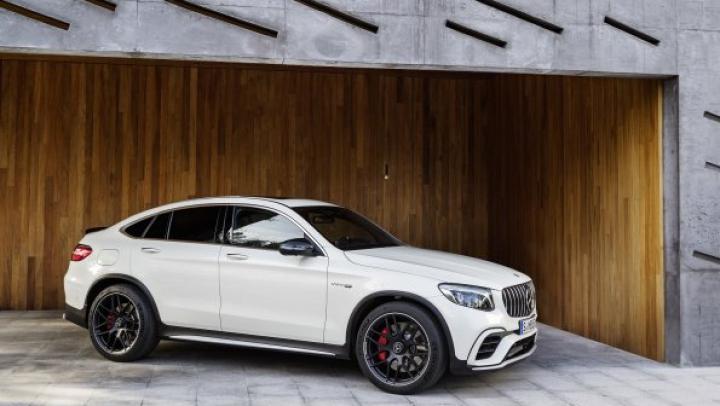 Mercedes-Benz оснастил новый кроссовер GLC мотором V8