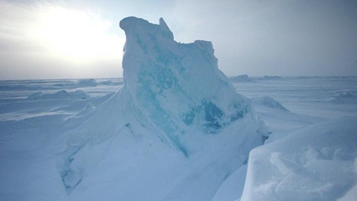 На Северном полюсе прошёл экстремальный марафон