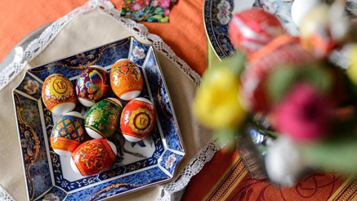 Пасхальные яйца могут быть опасны для здоровья