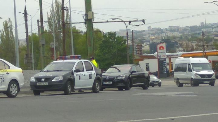 Фото: Адвокат Валериан Мынзат был вовлечен в ДТП