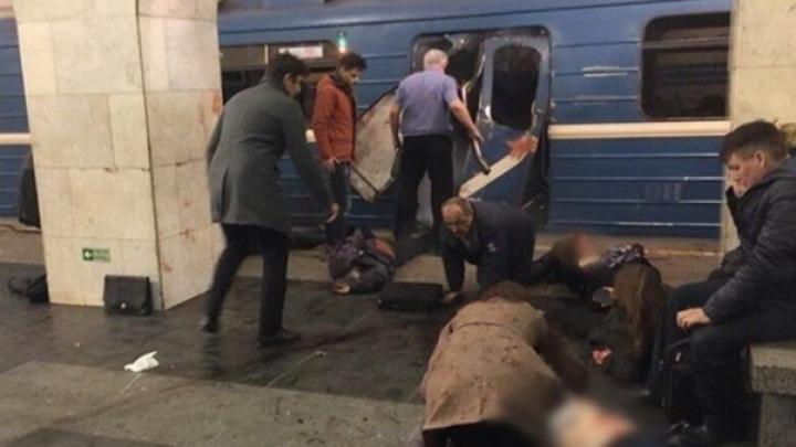 Число жертв теракта в метро Петербурга достигло 16 человек