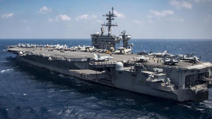 США развернули к берегам Корейского полуострова ударную группу ВМС