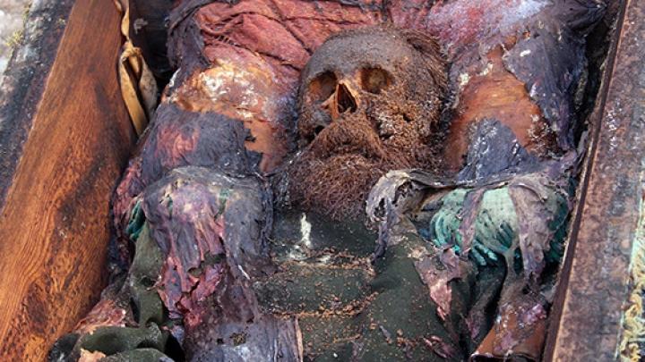 В Турции найден гроб с телом российского генерала