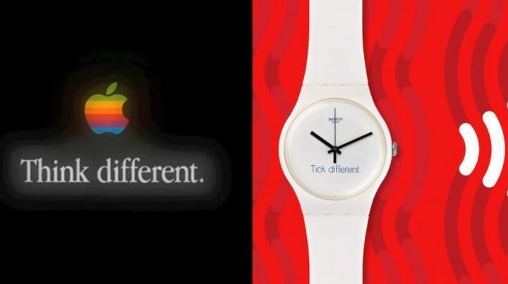 """Apple будет судиться со Swatch из-за рекламной фразы """"Заметь разницу"""""""