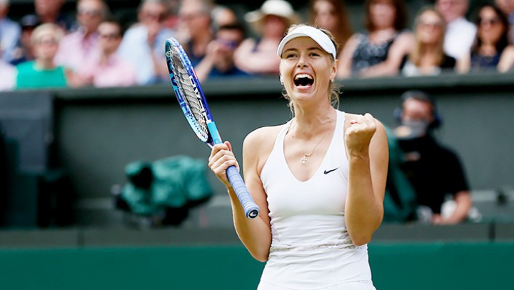 Мария Шарапова выиграла первый матч после дисквалификации