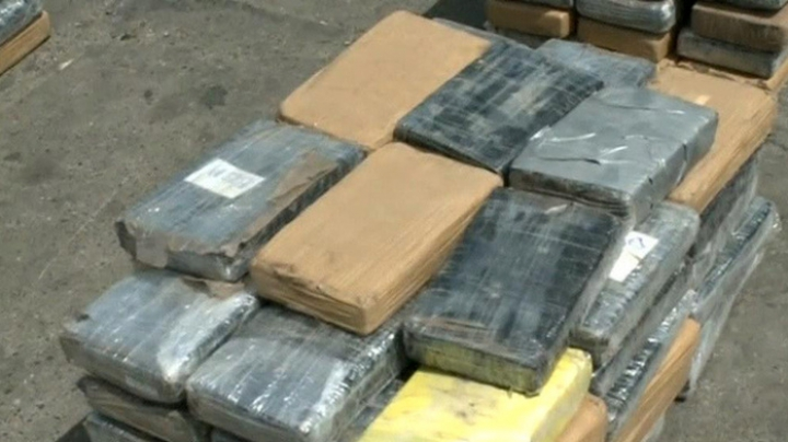 У берегов Коста-Рики задержали судно с тонной кокаина на борту