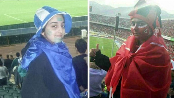 На футбольном матче в Иране арестовали переодетых мужчинами болельщиц