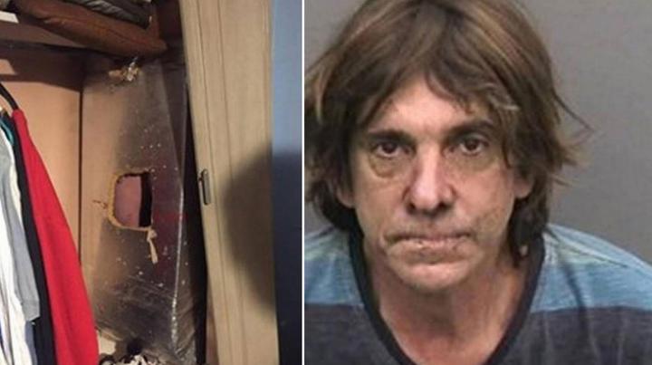 Спрятавшийся в вентиляционной трубе преступник попросил полицию спасти его