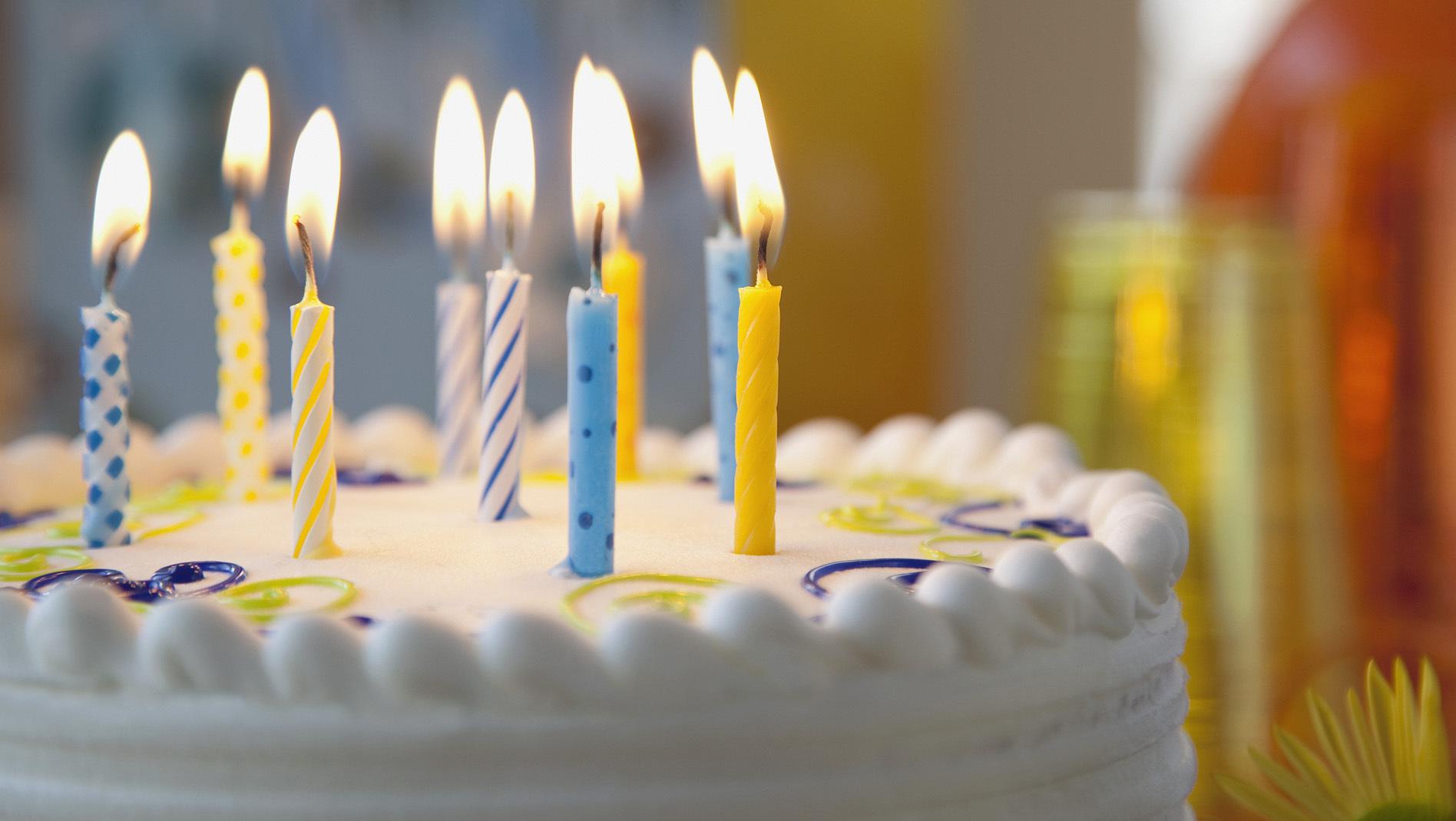 С днем рождения свечи картинки