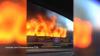 Видео: в Красноярске трамвай сгорел на ходу