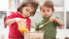 20 детей приняли участие в мастер-классе, который провели в Страшенском районе