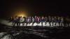 Лодка с мигрантами загорелась и взорвалась в Средиземном море