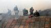 Мощный пожар в центре Москвы ликвидирован