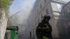 Случайные свидетели пожара спасли из огня женщину и детей