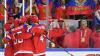 Сборная России победила Данию на ЧМ по хоккею, за 70 секунд