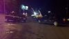 На Ботанике столкнулись машина такси и частный автомобиль