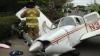 Видео: самолёт разбился на глазах у автомобилистов в Вашингтоне