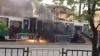 В украинском Львове во время движения загорелся трамвай, пострадавших нет