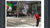 В Нью-Йорке автомобиль на полной скорости влетел в толпу