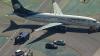 В Лос-Анджелесе столкнулись пассажирский самолет и грузовик
