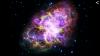 НАСА опубликовало захватывающие снимки Крабовидной туманности