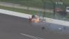 Французский гонщик попал в аварию на скорости 370 км/ч