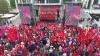 Движение транспорта в центре ограничено: ПСРМ организовала марш и митинг по случаю 1 мая