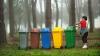 В шести селах Новоаненского района поставили контейнеры для раздельного сбора мусора