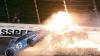 Машина Даники Патрик загорелась во время этапа гонок в Канзасе
