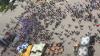 На акцию протеста против прямых выборов депутатов пришли всего 600 человек