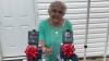 На 80-летие дети подарили бабушке 80 банок её любимого пива