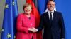 Президент Франции Эммануэль Макрон встретился накануне с канцлером Германии Ангелой Меркель