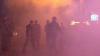 """Видео: """"Правый сектор"""" забросал дымовыми шашками клуб из-за концерта Лободы"""