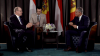 Принц Монако Альбер II встретился в рамках экономического форума с Владом Плахотнюком
