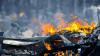 С горящего в Охотском море траулера эвакуирован весь экипаж