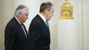 В Вашингтоне начались переговоры Лаврова и Тиллерсона