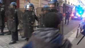 СМИ сообщили о массовых задержаниях на протестах в Париже