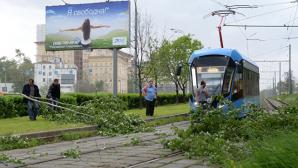 На Москву обрушился ураган: видео