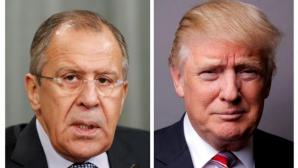 Президент США Дональд Трамп встретится с главой российского МИДа Сергеем Лавровым