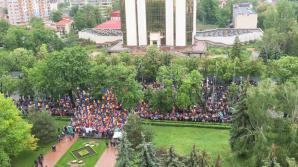 Манипуляции СМИ: Europa Liberă сообщил о тысячах протестующих вместо сотни