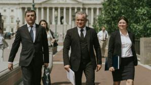 Лидер ДПМ встретился с американскими конгрессменами и сенаторами