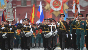На Красной площади прошёл Парад Победы