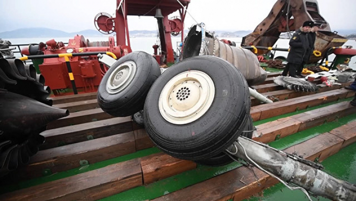 Шойгу сообщил о завершении работ на месте крушения Ту-154 в Черном море
