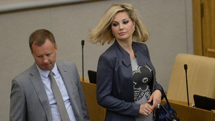 Мария Максакова вышла в свет на «Евровидение 2017»