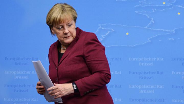 Ангела Меркель отказалась надеть головной убор в Саудовской Аравии